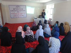 LSO VAW advocacy team conducted advocacy session for women to build their capacity regarding their rights in community and law