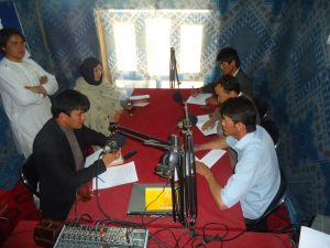 LSO conducted radio round table to encourage community to  fight against corruption and monitor public services delivery on Aug, 23rd, 2015.